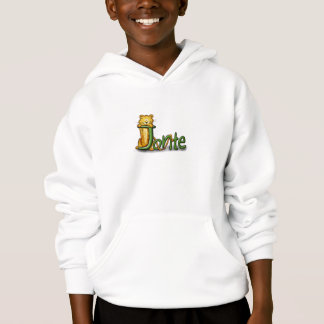 Sweater for Kids with the name Jonte