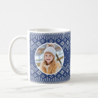 Sweater Weather | Holiday Photo Coffee Mug