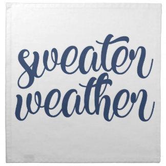 Sweater Weather Napkin
