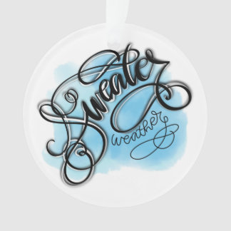 Sweater Weather Ornament