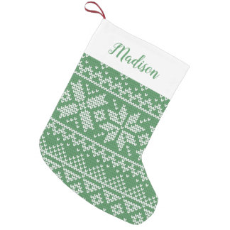 Sweater Weather | Personalized Holiday Stocking