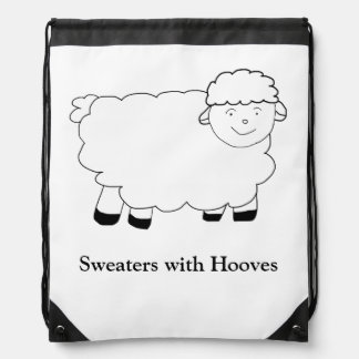 Sweaters With Hooves Backpacks