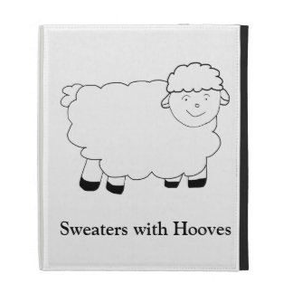 Sweaters With Hooves iPad Folio Case