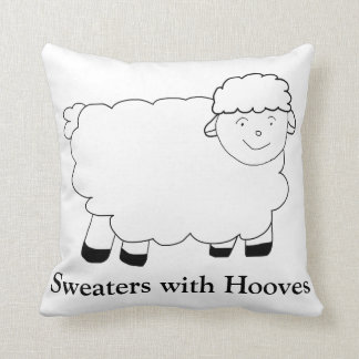 Sweaters With Hooves Cushion
