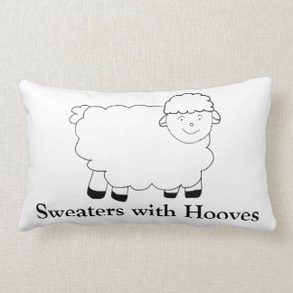 Sweaters With Hooves Cushions