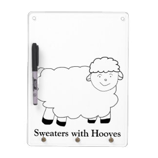 Sweaters With Hooves Dry-Erase Board