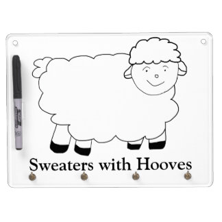 Sweaters With Hooves Dry Erase Boards
