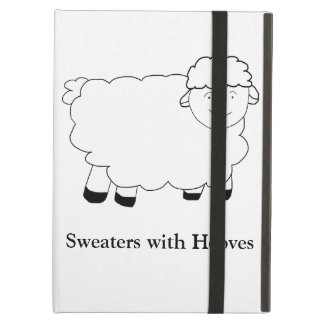 Sweaters With Hooves iPad Air Cases