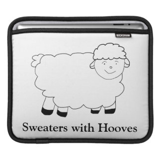 Sweaters With Hooves iPad Sleeves