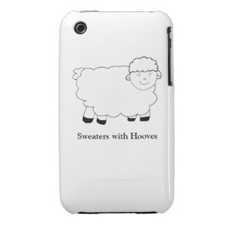 Sweaters With Hooves iPhone 3 Case-Mate Case