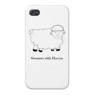 Sweaters With Hooves iPhone 4 Covers