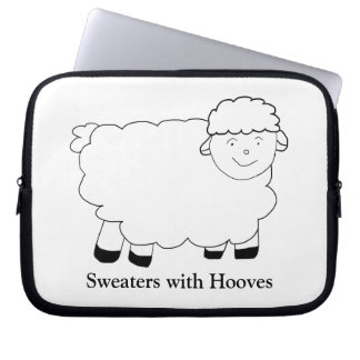 Sweaters With Hooves Laptop Computer Sleeves