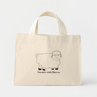 Sweaters With Hooves Mini Tote Bag