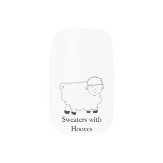 Sweaters With Hooves Minx® Nail Art