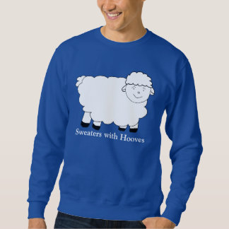 Sweaters With Hooves Pull Over Sweatshirt