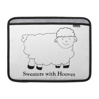 Sweaters With Hooves Sleeves For MacBook Air