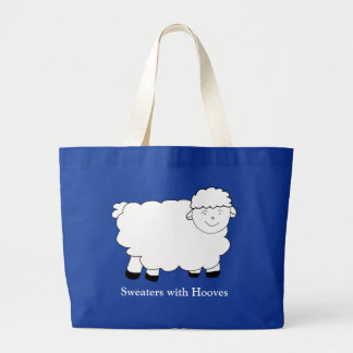 Sweaters With Hooves Jumbo Tote Bag