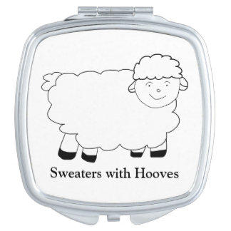 Sweaters With Hooves Vanity Mirrors
