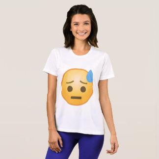 Sweating Emoji T-Shirt