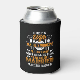Sweating For The Wedding Funny Wedding Can Cooler