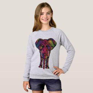 Sweatshirt American Apparel Raglan for girls