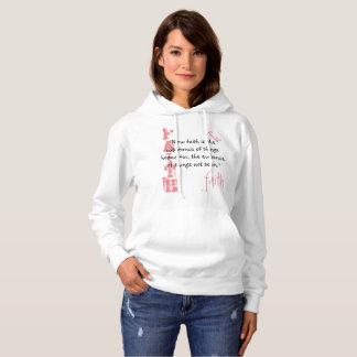 Sweatshirt-  Faith Scripture, Hebrews 11:1 Hoodie