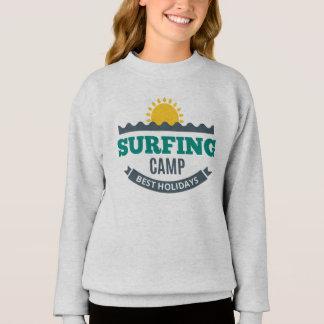Sweatshirt Girl Surfing