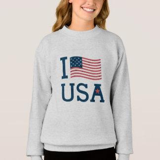 Sweatshirt Girl the USA