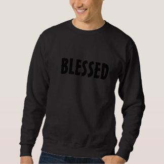 Sweatshirt jc pink Blessed