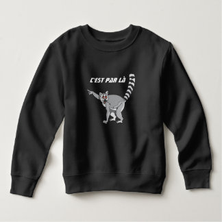 sweatshirt lemur