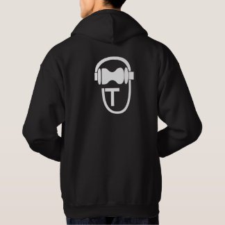 Sweatshirt with TEnsko's Logo - Back - Dark