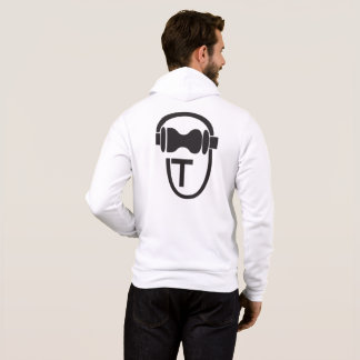 Sweatshirt with TEnsko's Logo - Back - Light