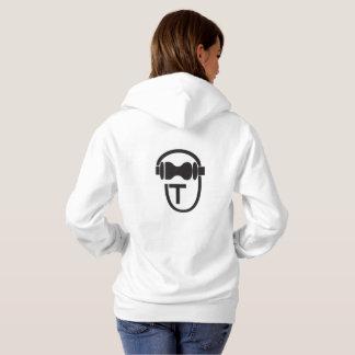 Sweatshirt with TEnsko's Logo - Back - Light
