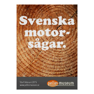 Swede engine saws poster
