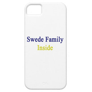 Swede Family Inside iPhone 5/5S Case
