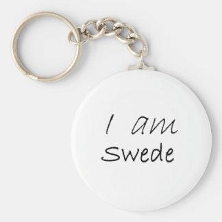 Swede jpg keychain