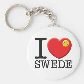 Swede Keychain