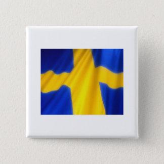SWEDEN 15 CM SQUARE BADGE