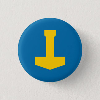 Sweden Badge - Thor's Hammer