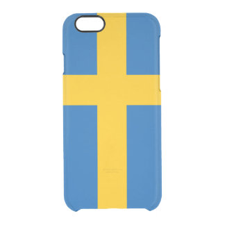 Sweden Clear iPhone 6/6S Case
