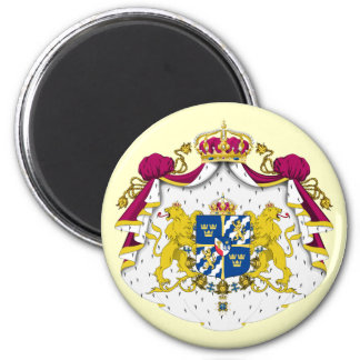Sweden Coat of Arms Magnet