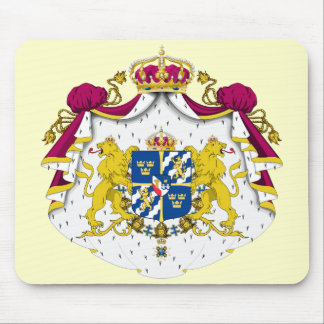 Sweden Coat of Arms Mousepad