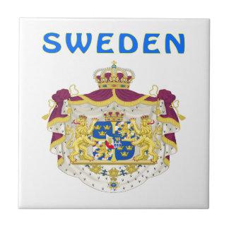 Sweden Coat Of Arms Tiles