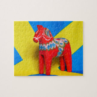 Sweden Dala Horse puzzle