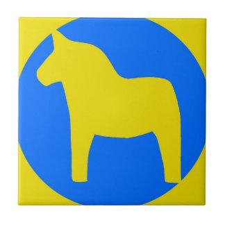 Sweden Dala Horse Ceramic Tiles