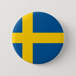 Sweden Flag 6 Cm Round Badge