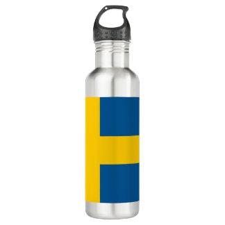Sweden Flag 710 Ml Water Bottle