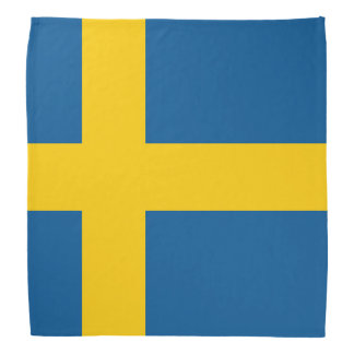 Sweden Flag Bandana
