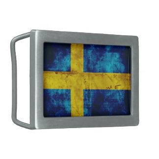 Sweden Flag Belt Buckle