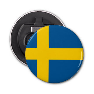Sweden Flag Bottle Opener
